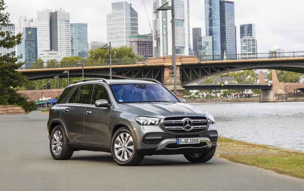 Autonomia di Mercedes GLE ibrida plug-in