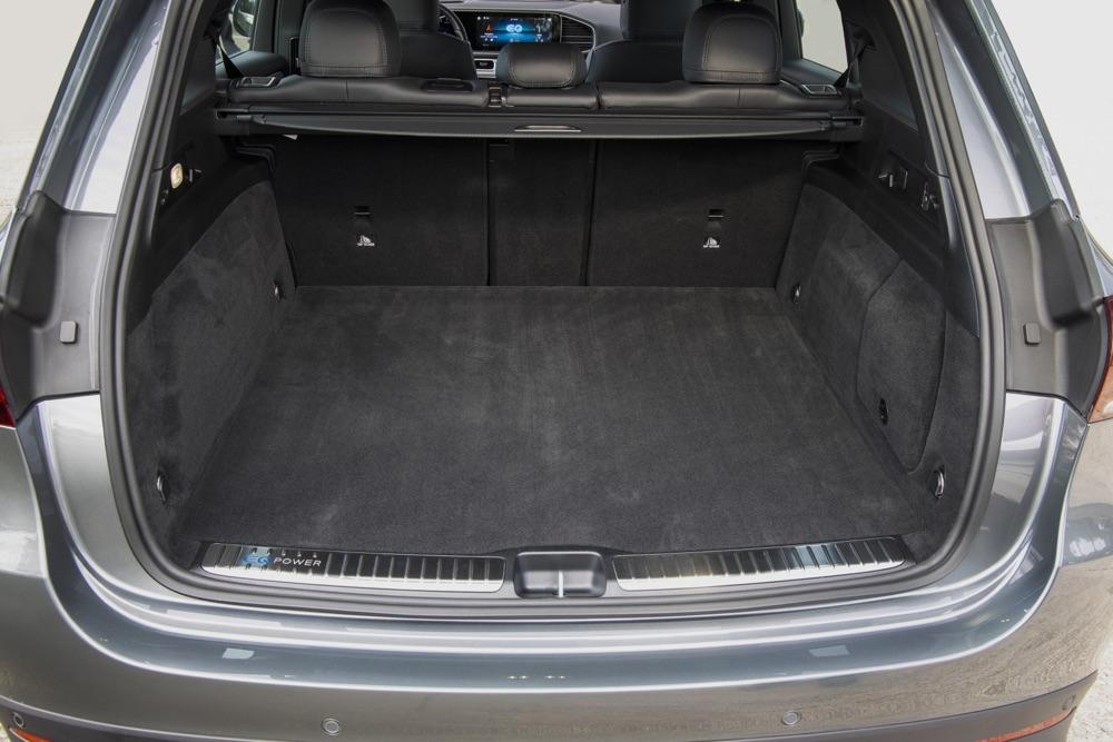 Bagagliaio di Mercedes GLE 350 de