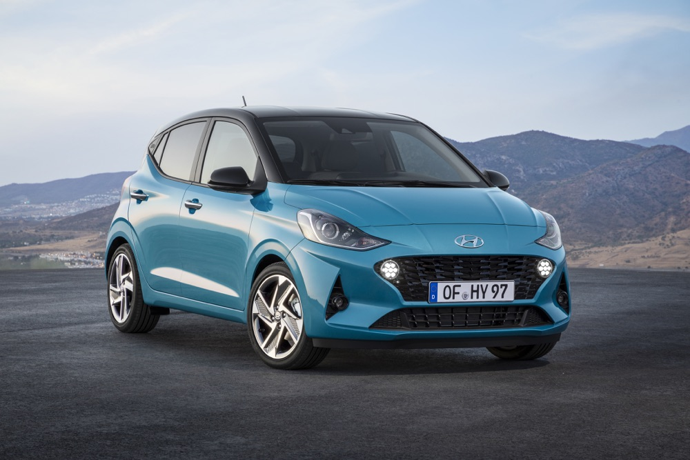 Caratteristiche di Nuova Hyundai i10