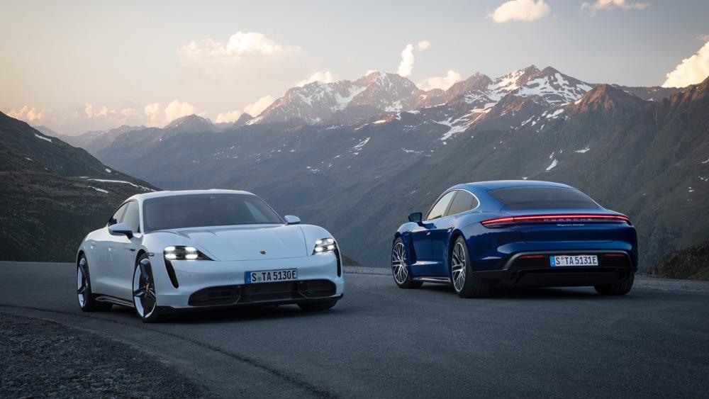 Caratteristiche di Porsche Taycan