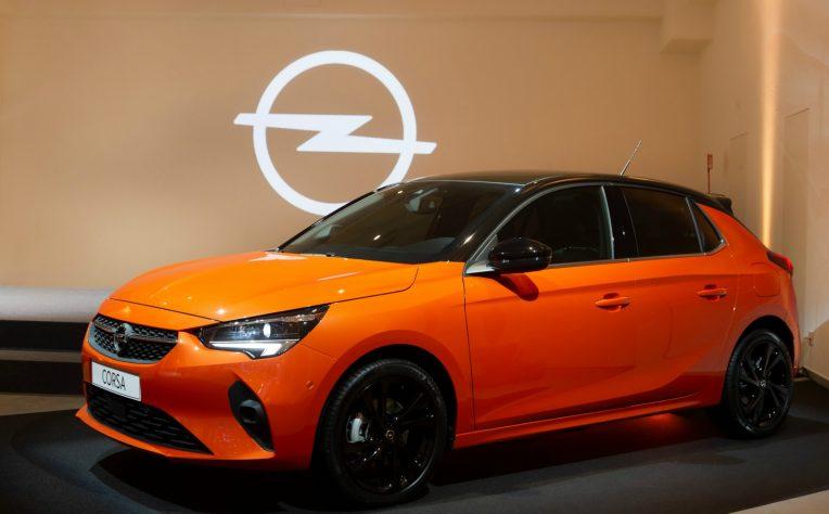 Esterni nuova Opel Corsa