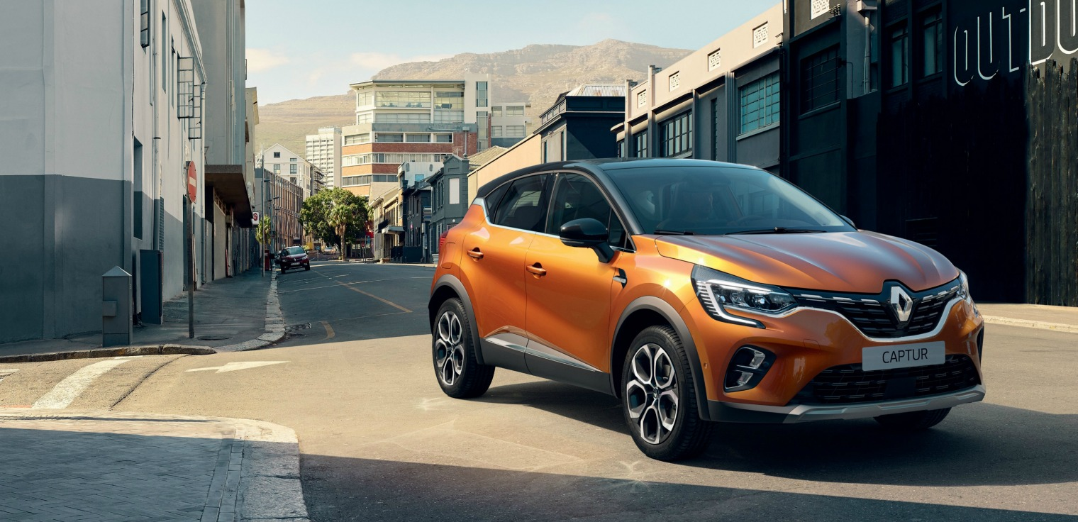 Esterni nuova Renault Captur 2020