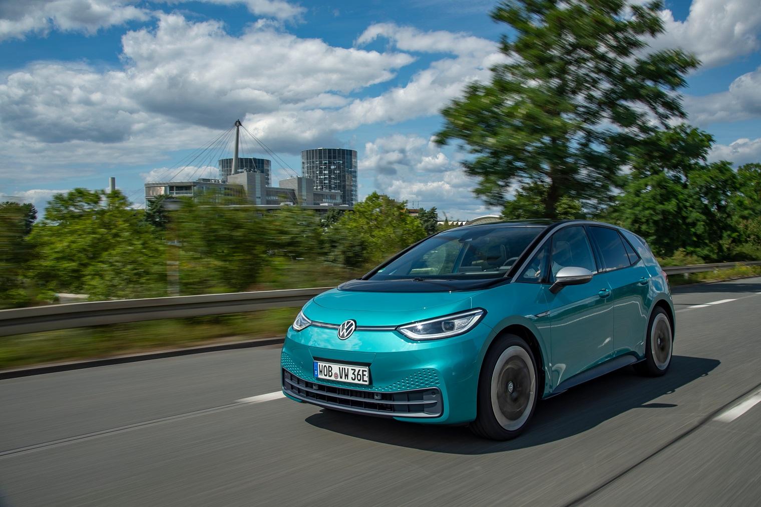 Esterni nuova Volkswagen ID.3