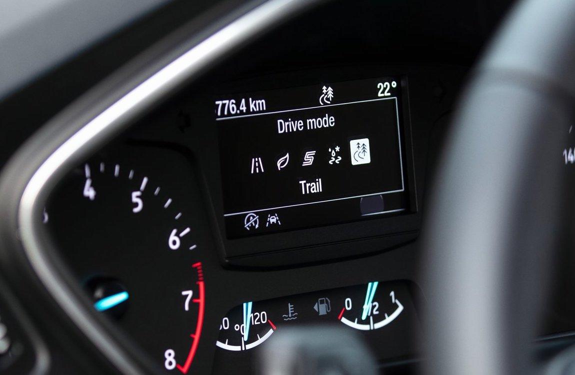 Modalità di guida di Ford Focus Active