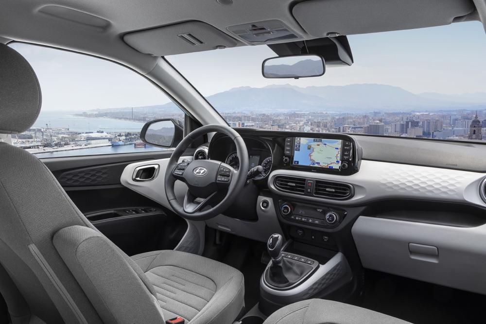 Interni di Nuova Hyundai i10