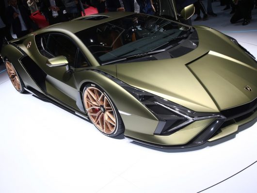 Supercar al salone di Francoforte 2019