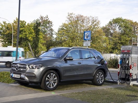 Mercedes GLE ibrida plug-in