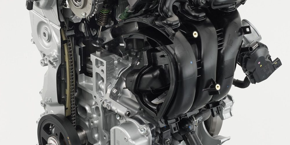 Motore di Nuova Toyota Yaris 2020