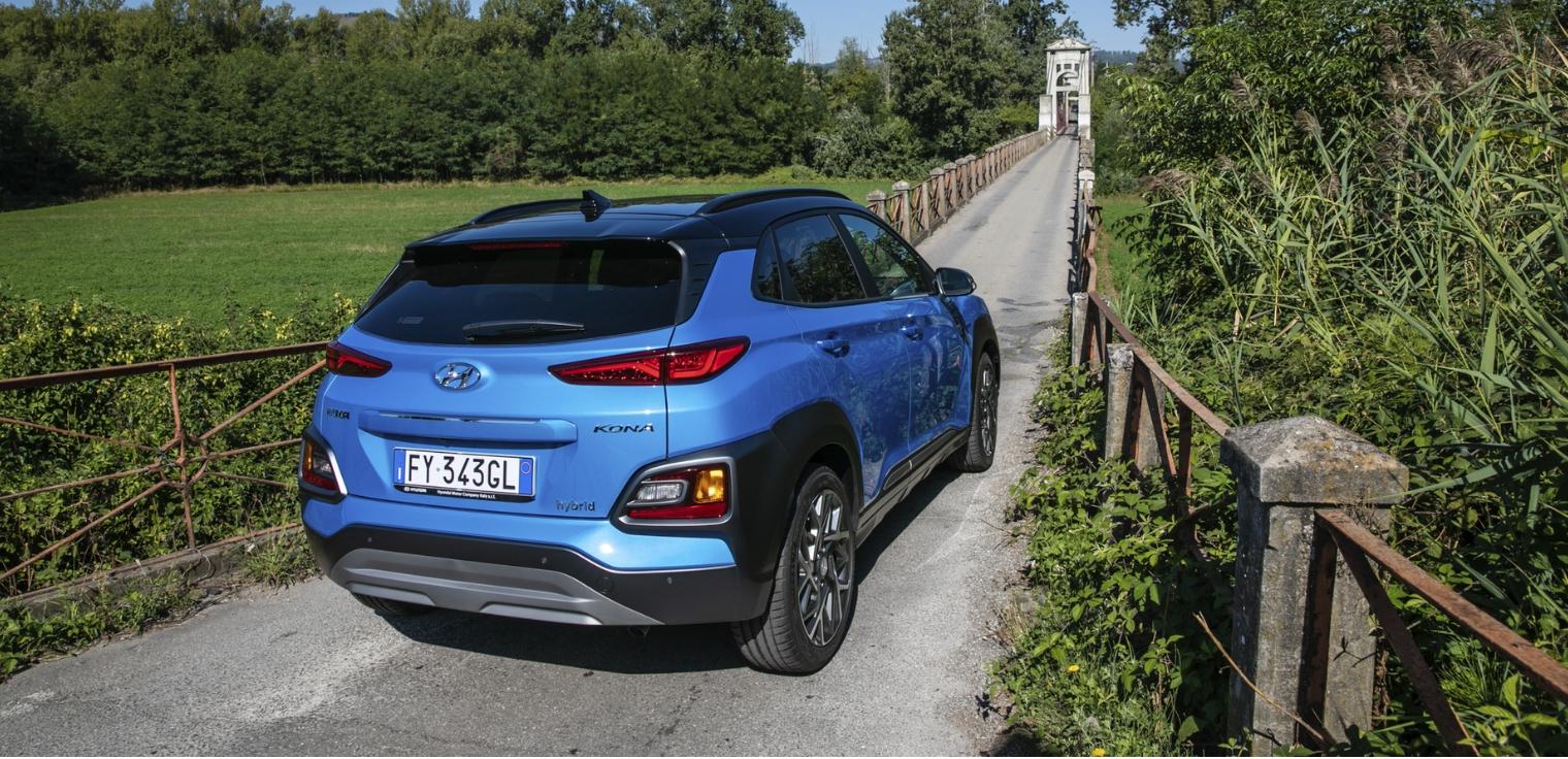 Nuova Hyundai Kona Hybrid 2020