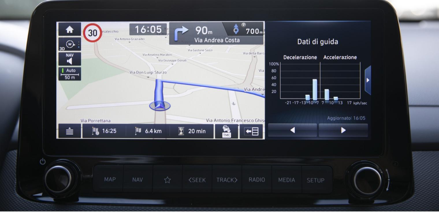Nuova Hyundai Kona Hybrid 2020 tecnologia