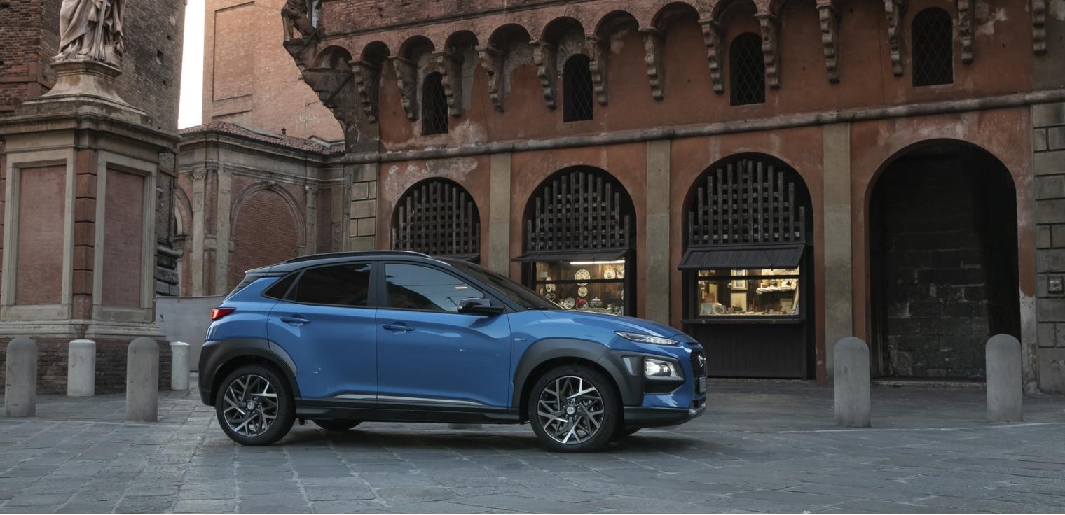 Nuova Hyundai Kona Hybrid 2020 prova su strada