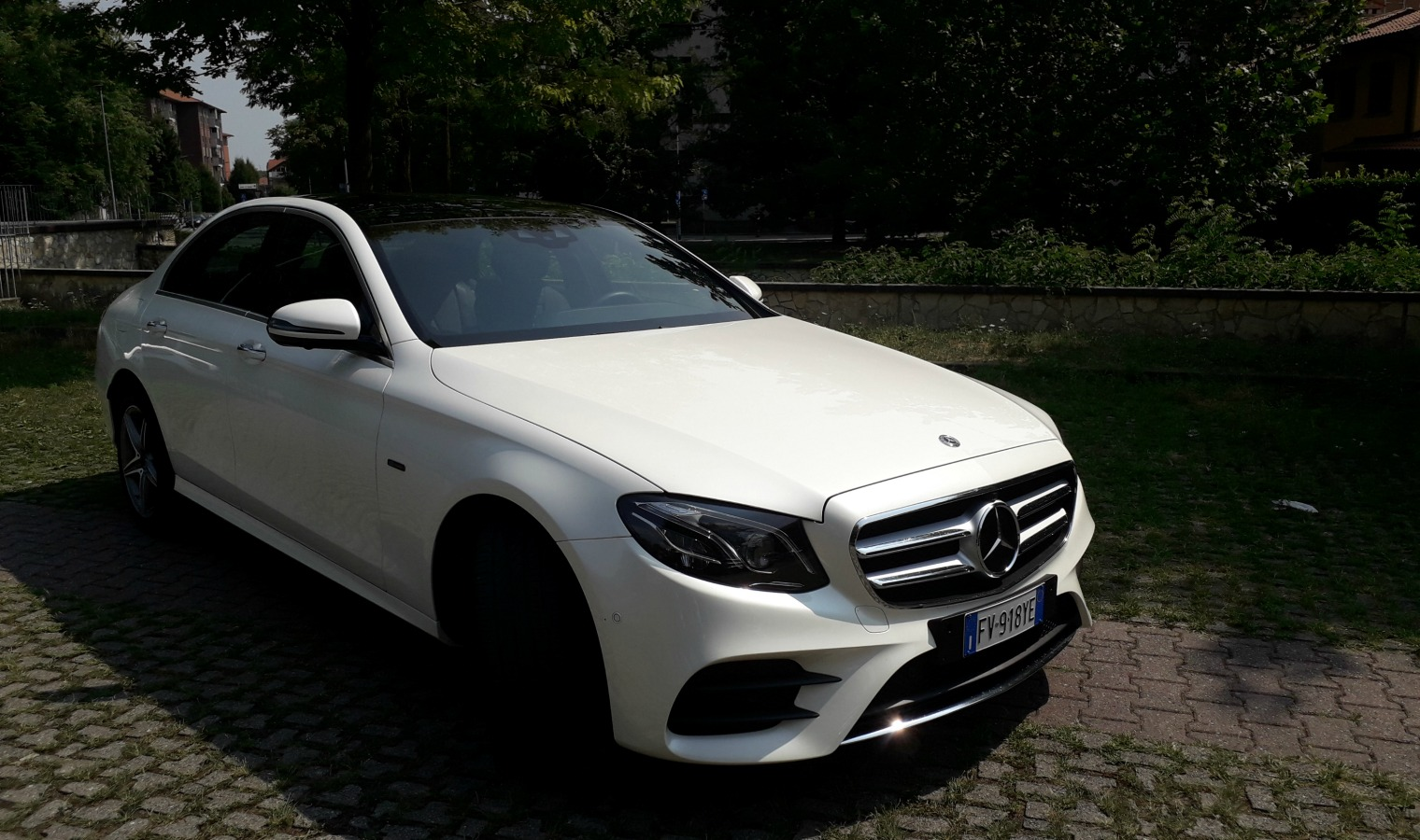 Nuova Mercedes Classe E 300 de EQ Power 2019