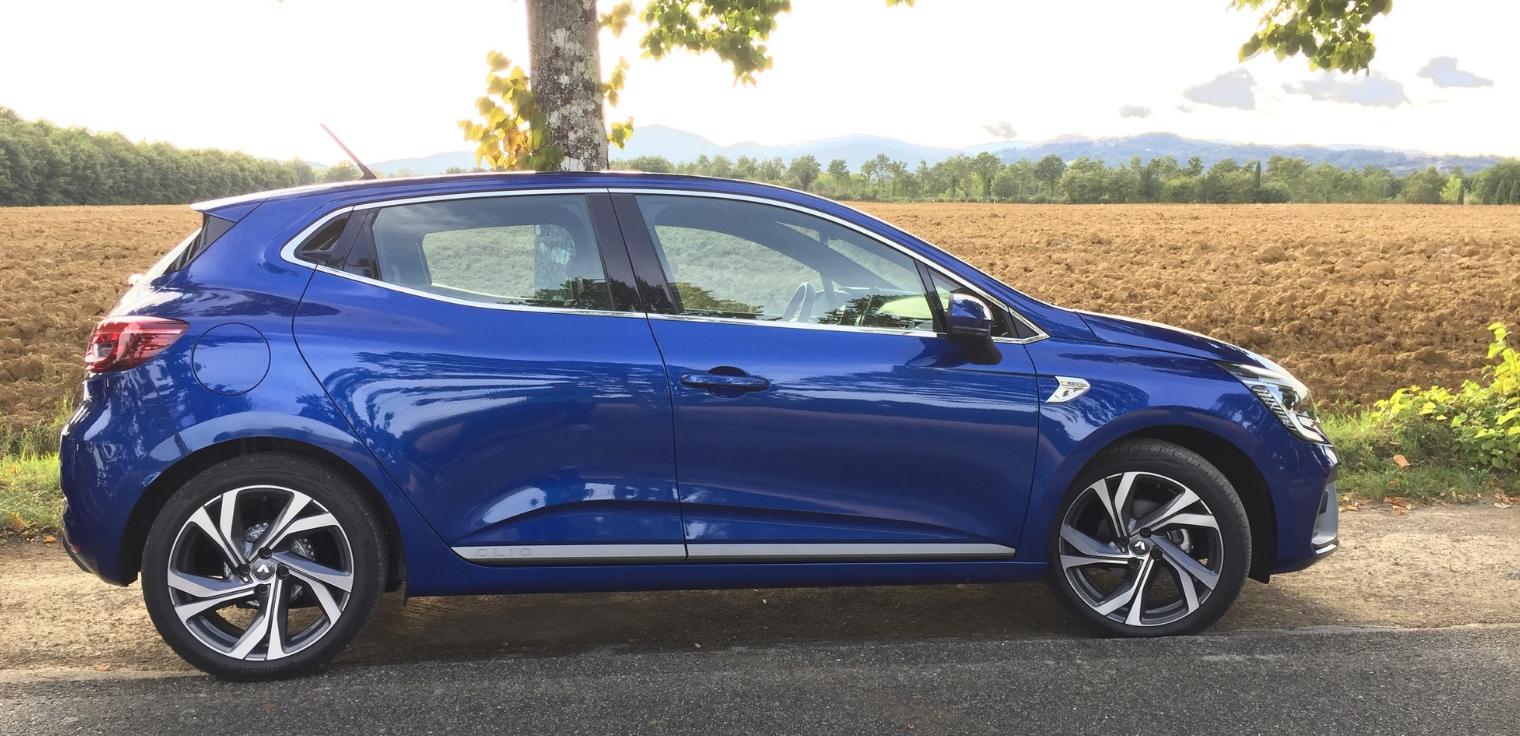 Nuova Renault Clio 2020 fiancata