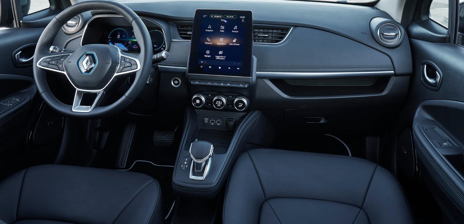 Nuova Renault Zoe 2020 interni