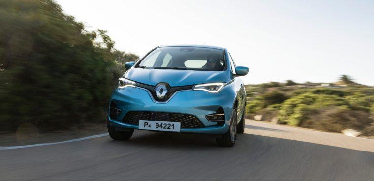 Nuova Renault Zoe 2020 test drive