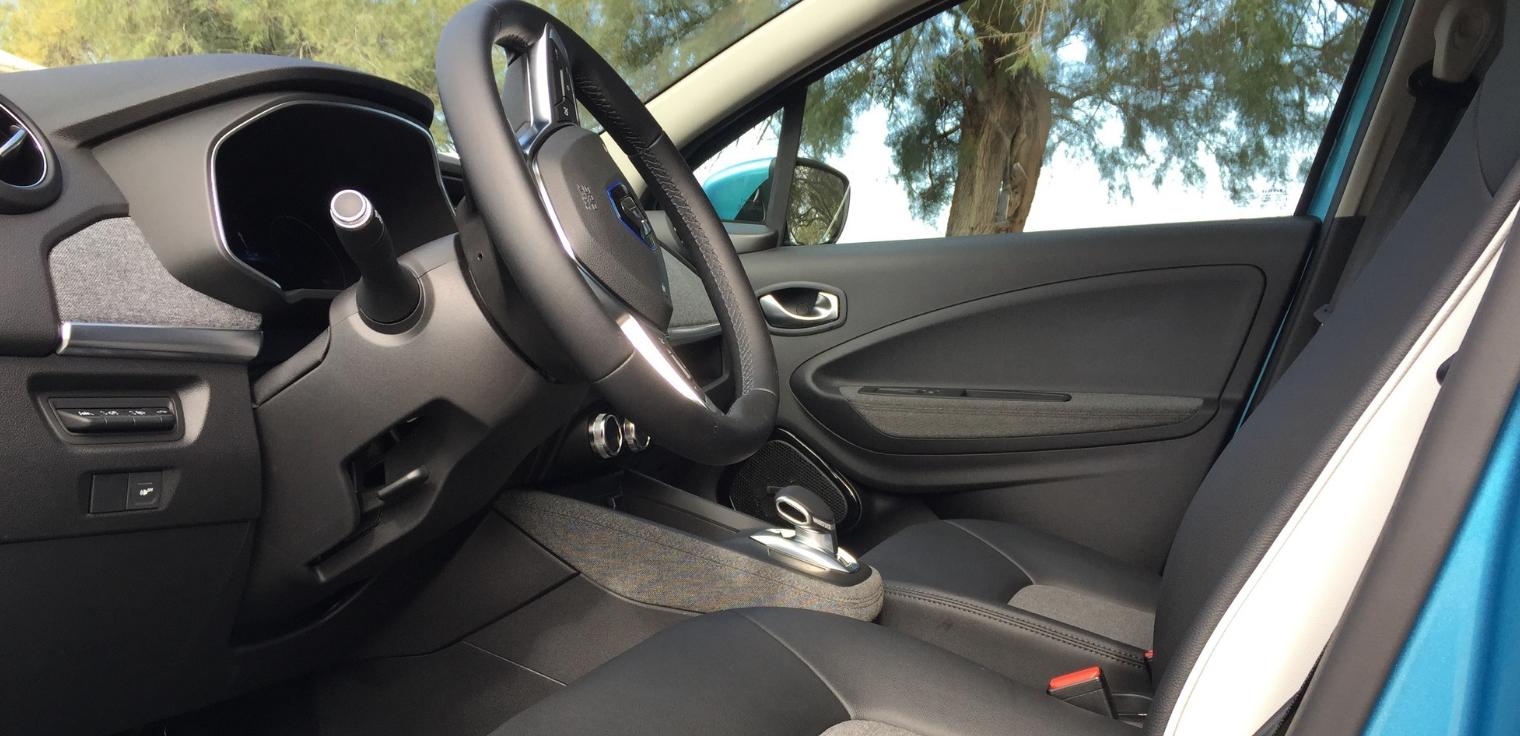 Nuova Renault Zoe 2020 abitacolo