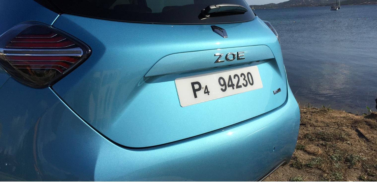 Nuova Renault Zoe 2020