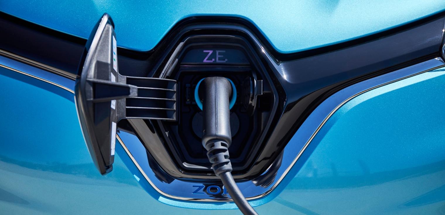 Nuova Renault Zoe 2020 presa ricarica