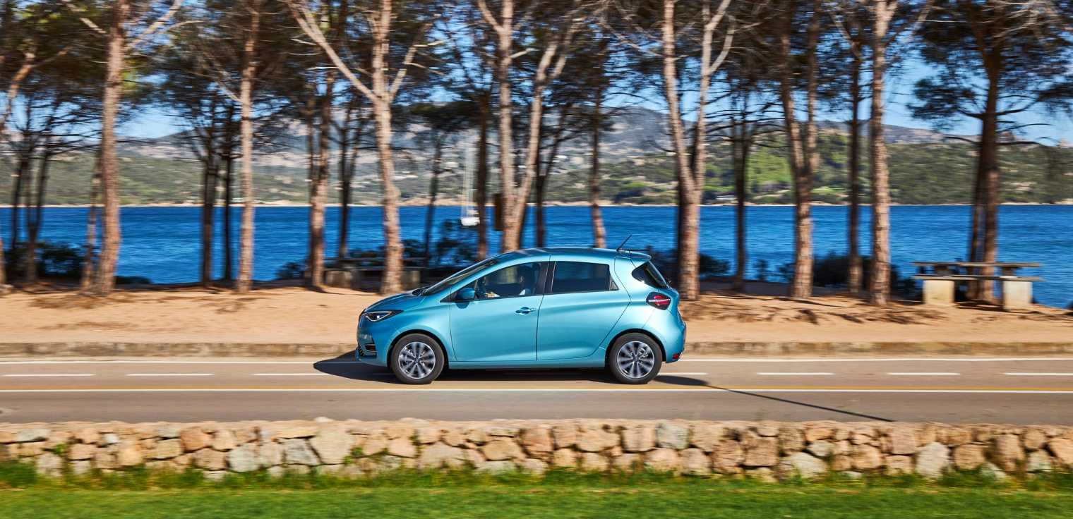 Nuova Renault Zoe 2020 autonomia
