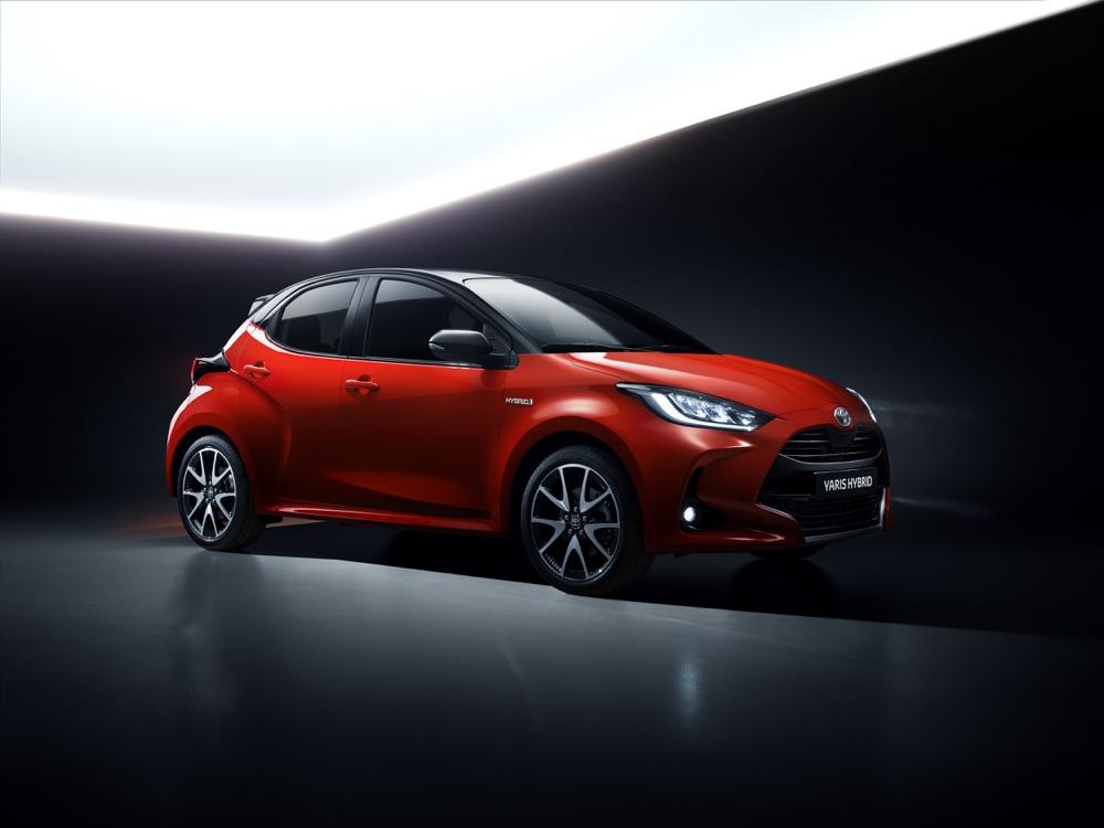 Nuova Toyota Yaris 2020
