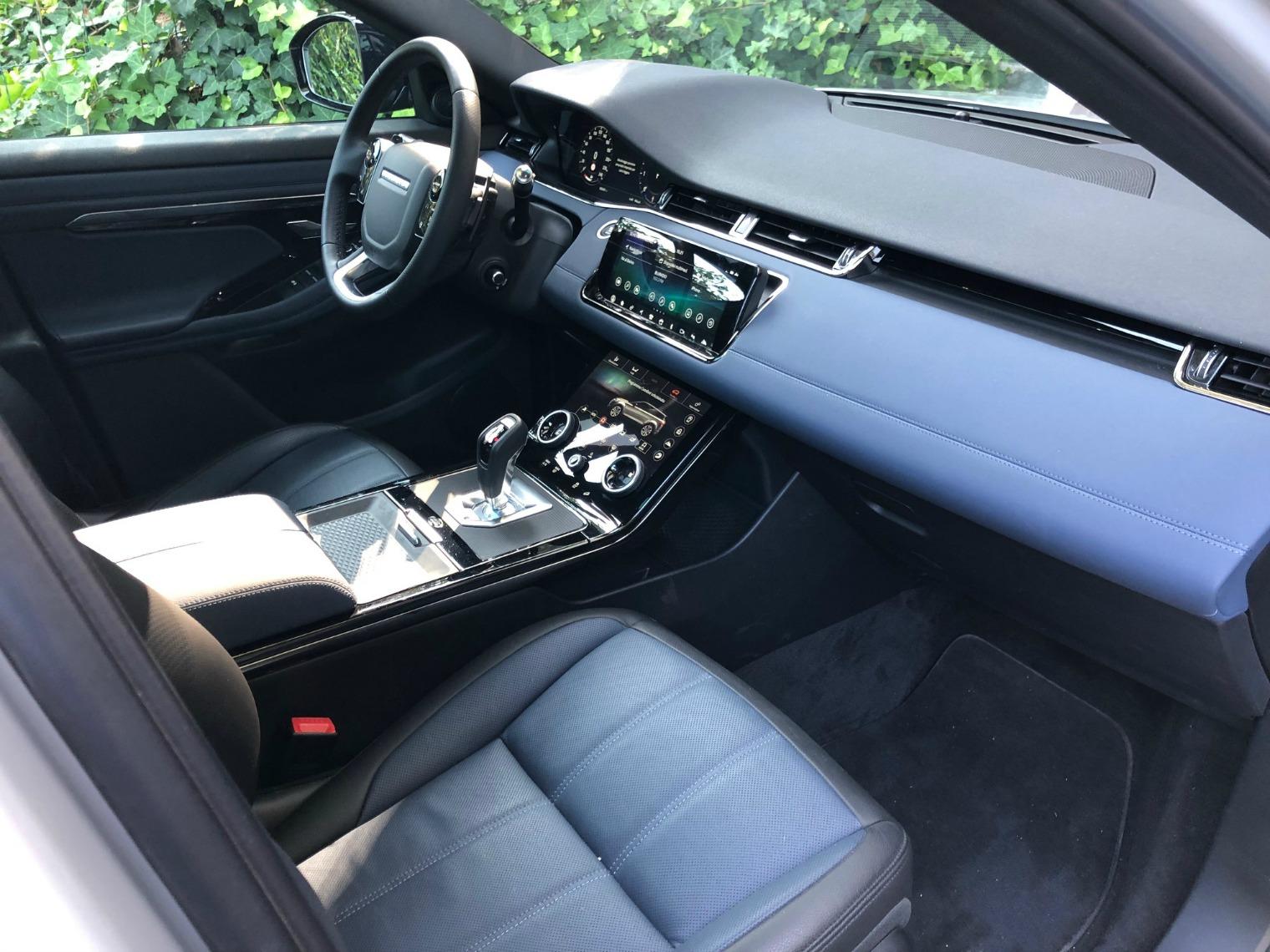 Plancia nuova Range Rover Evoque