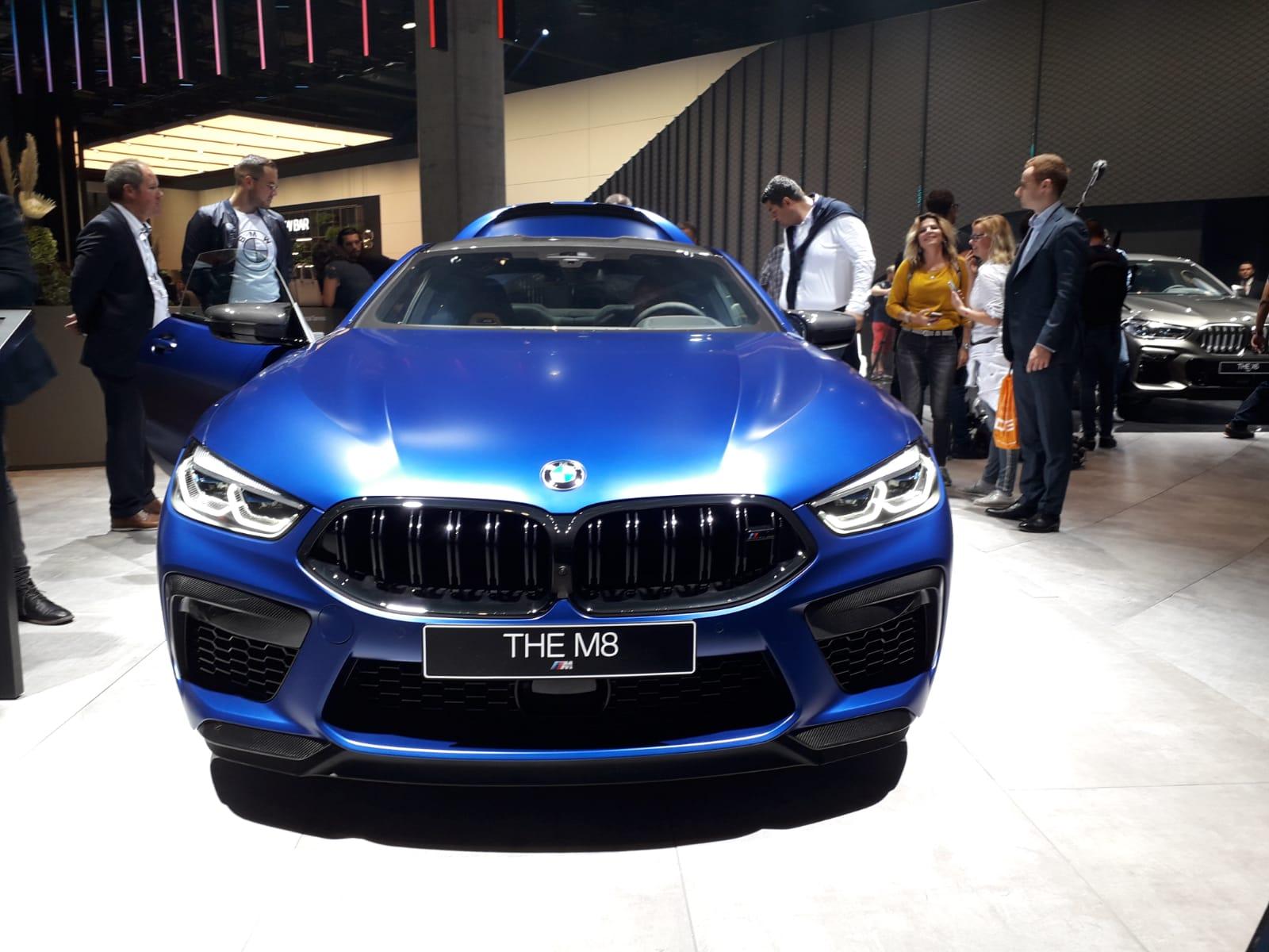 BMW M8 al Salone di Francoforte 2019