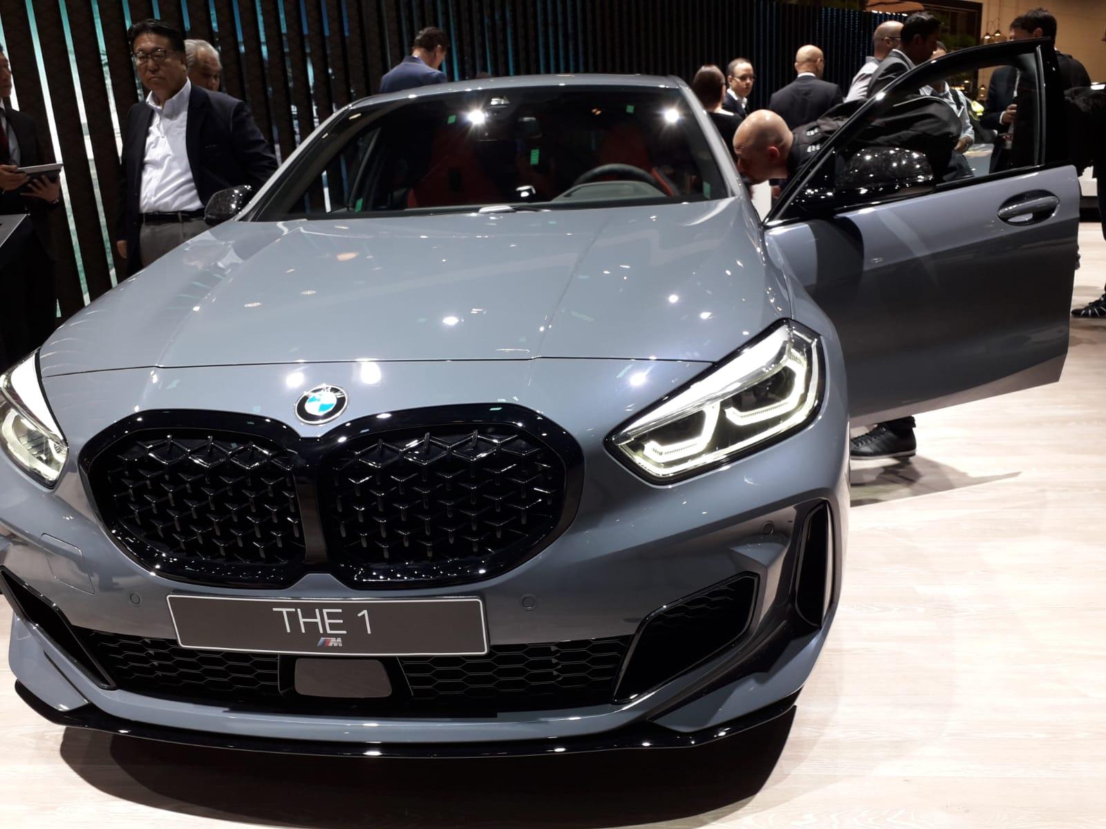 Nuova BMW Serie 1 a Francoforte