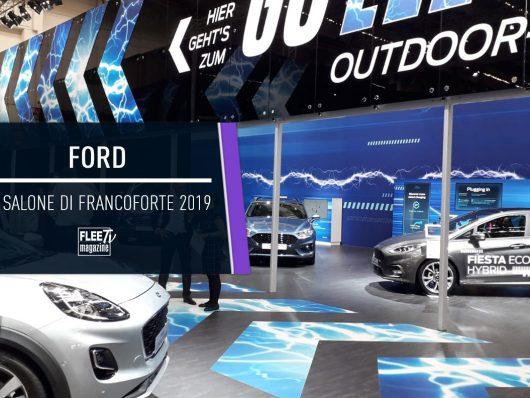 Ford al Salone di Francoforte VIDEO