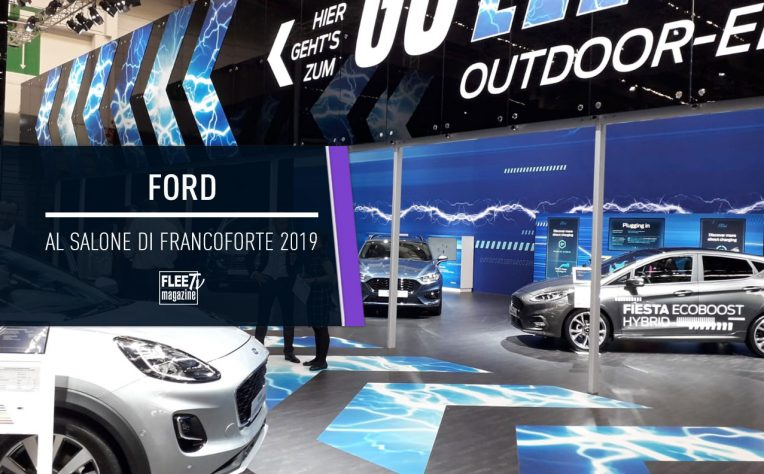 Ford al Salone di Francoforte VIDEO