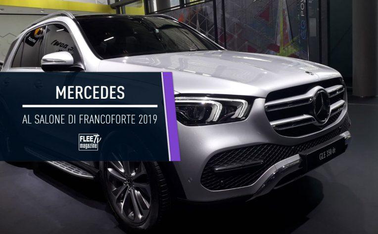 Mercedes al Salone di Francoforte 2019