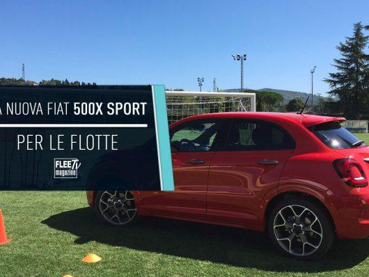 nuova Fiat 500X Sport test drive