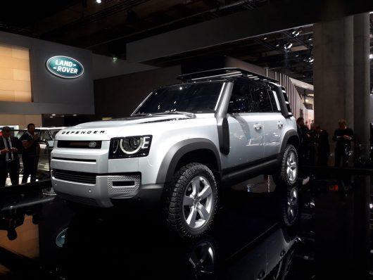 Land Rover al Salone di Francoforte 2019