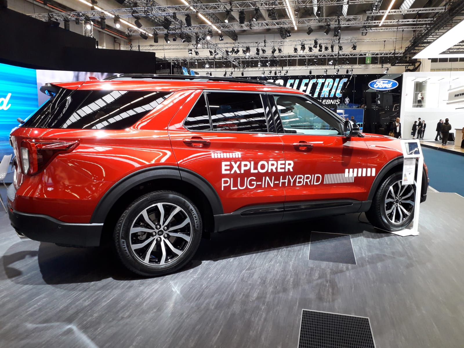 Ford Explorer al Salone di Francoforte 2019
