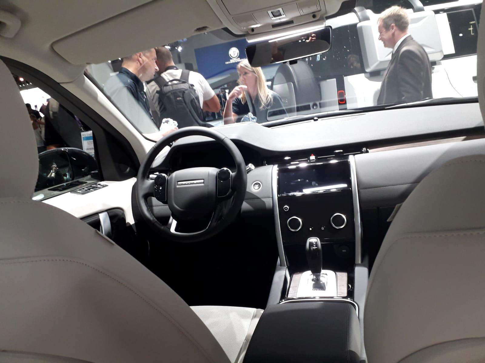 Interni Range Rover Discovery Sport