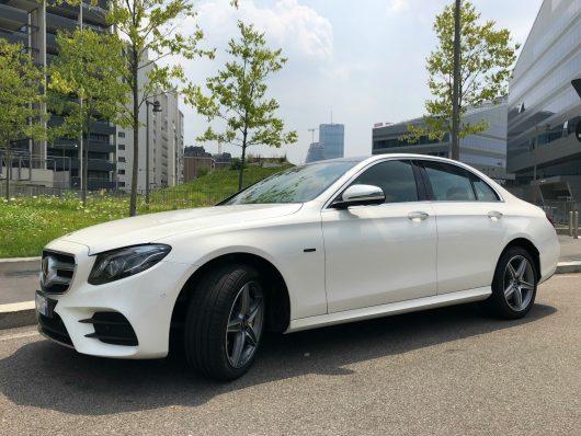nuova Mercedes Classe E ibrida plug-in