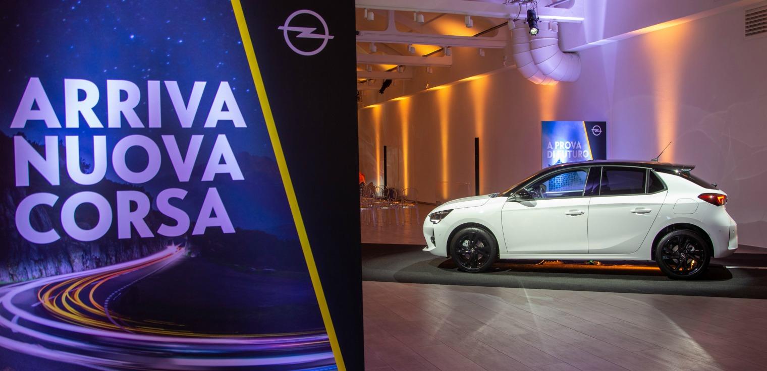 nuova Opel Corsa 2020