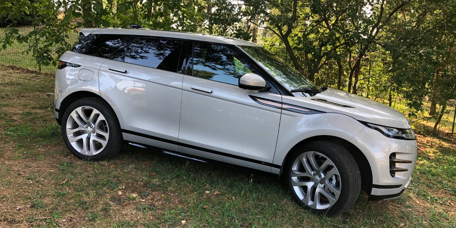 nuova Range Rover Evoque trazione integrale