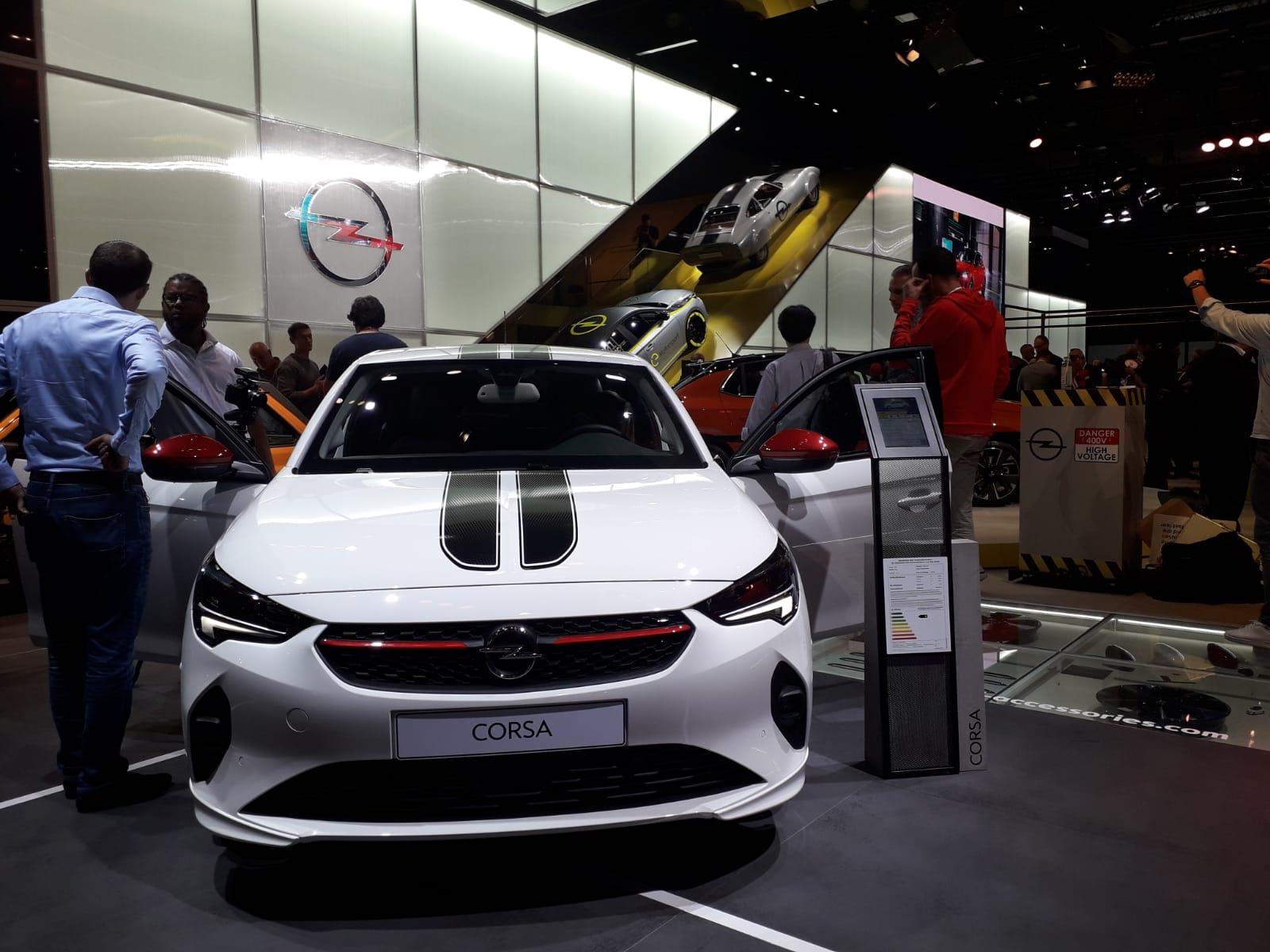 Nuova Opel Corsa Salone di Francoforte 2019