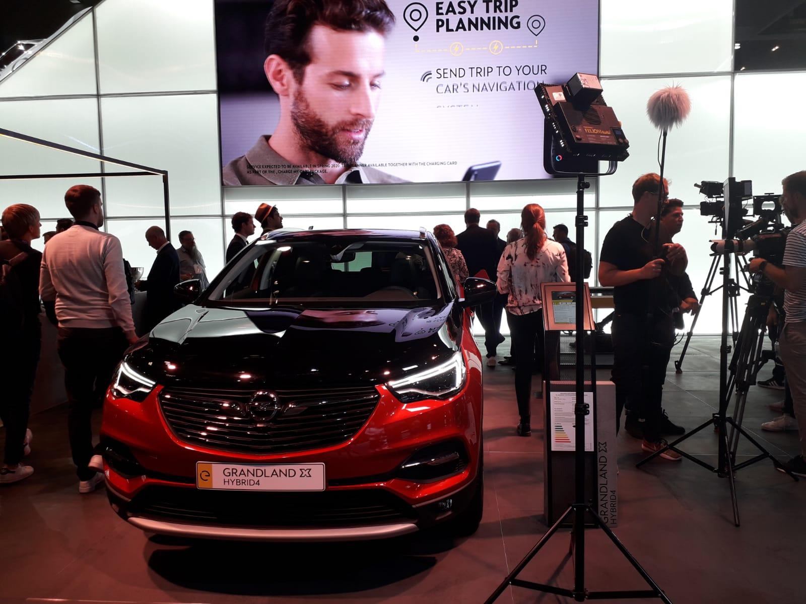 Opel Grandland X Salone di Francoforte 2019