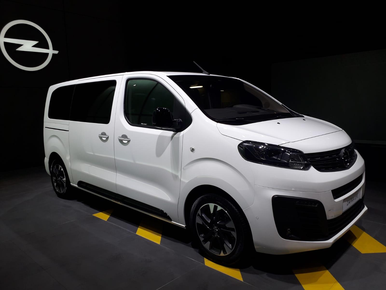 Opel Zafira Life Salone Francoforte 2019