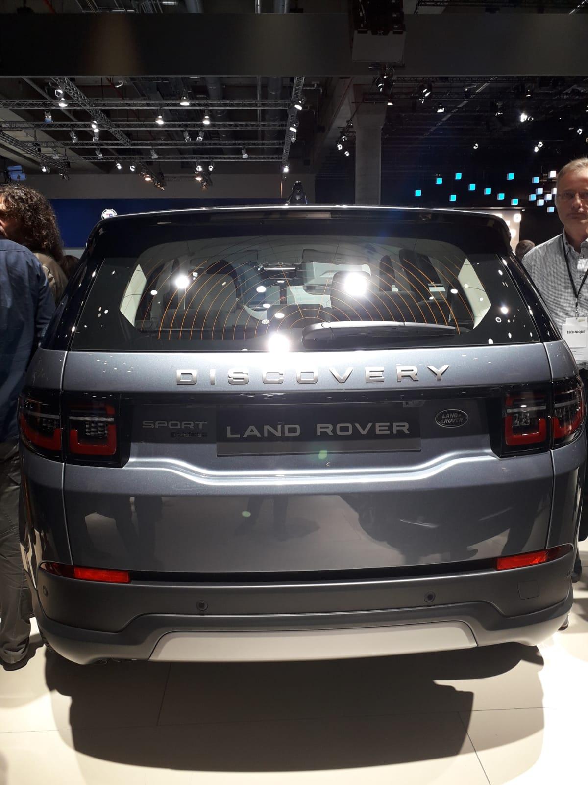 Bagagliaio di Range Rover Discovery Sport