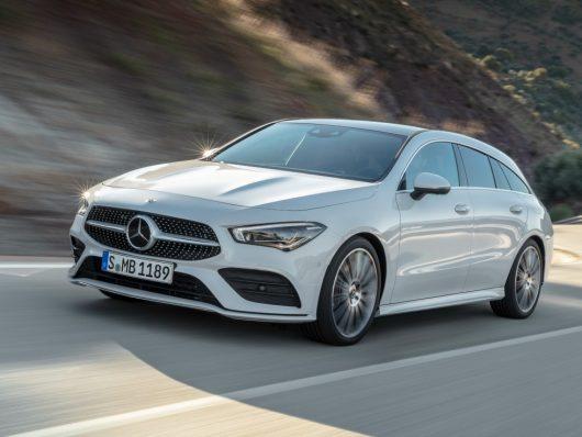 Adas nuova Mercedes CLA Shooting Brake