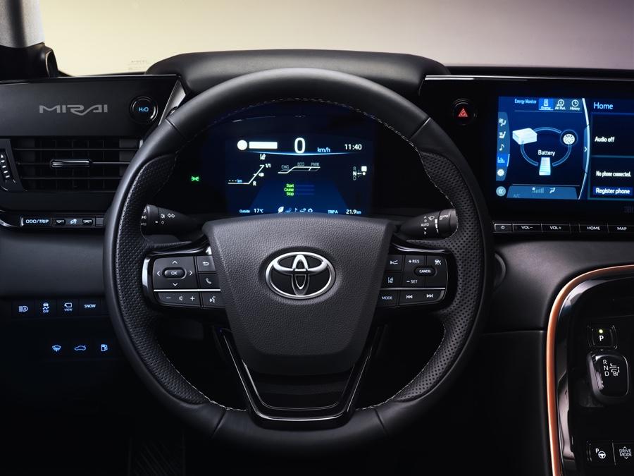 Autonomia di Toyota Mirai 2020