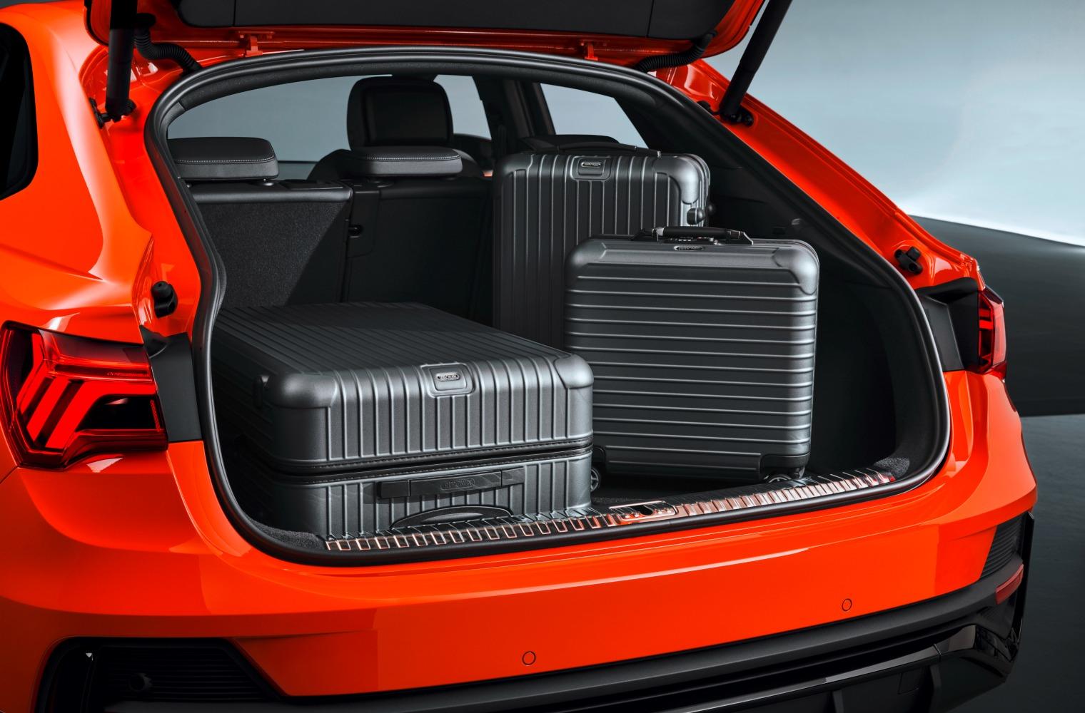 Bagagliaio nuova Audi Q3 Sportback