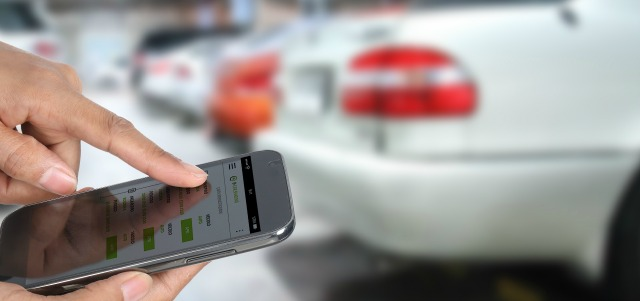 Car sharing Targa Telematics
