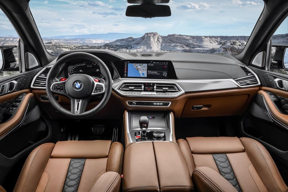 Interni di BMW X5 M