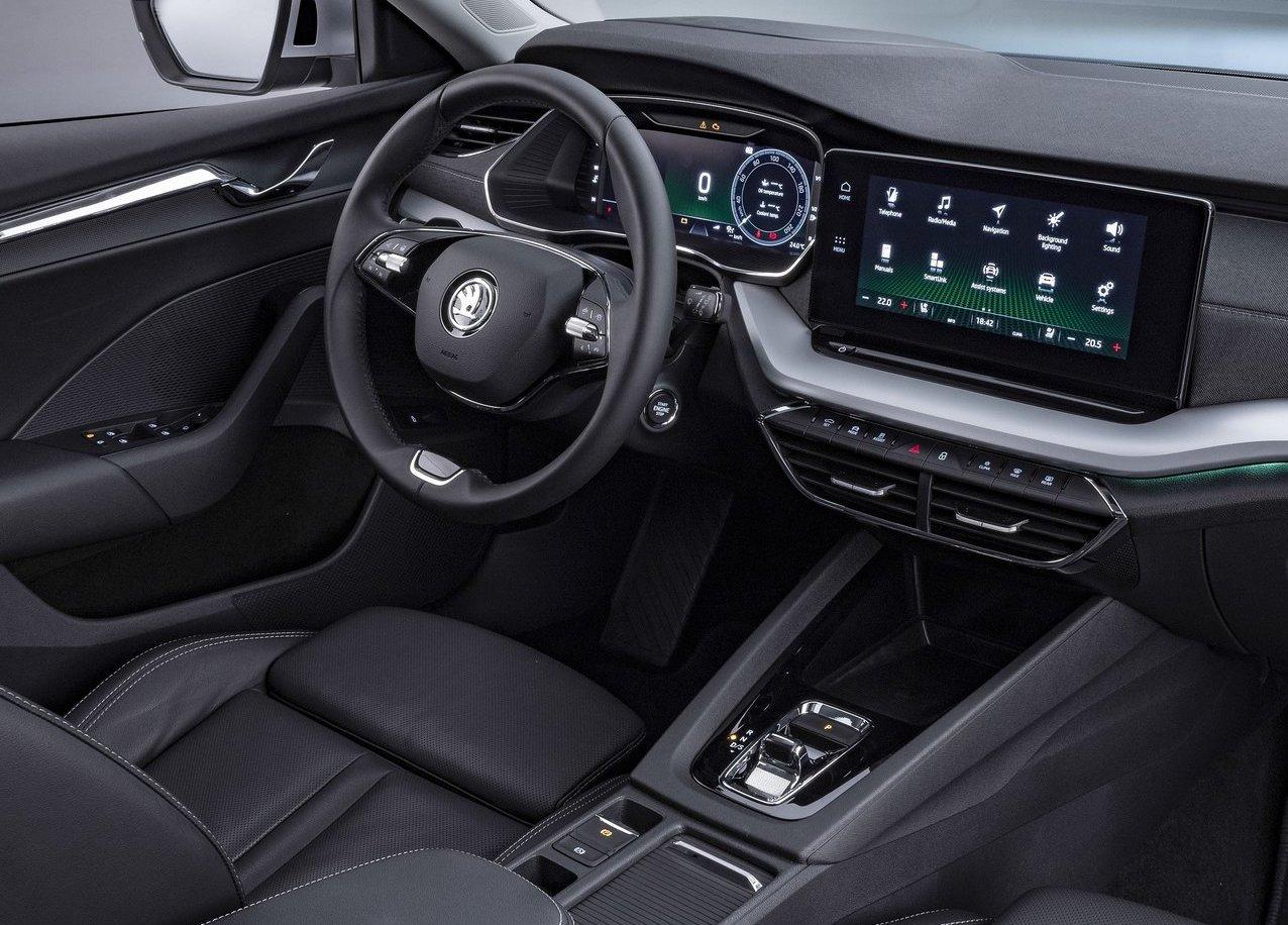 Interni di Nuova Skoda Octavia wagon 2020