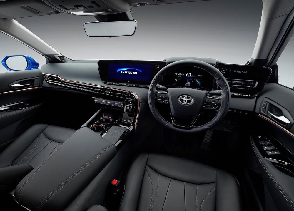 Interni di Toyota Mirai 2020