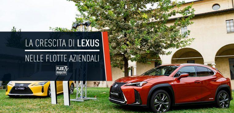 Lexus crescita flotte aziendali