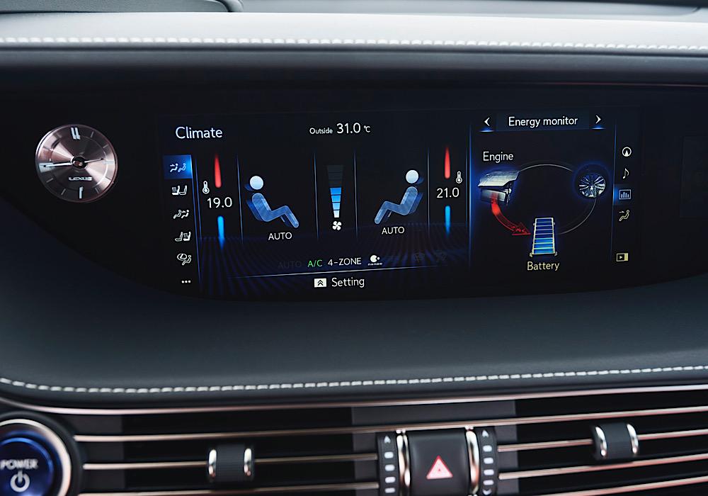 Clima Lexus LS